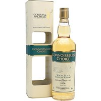 70cl / 46% / Gordon & MacPhail - A 2004-vintage Glen Spey bottled for Gordon & MacPhail's Connoisseurs Choice range.  Glen Spey's pleasant, grassy single malt is rather rare as most of it goes into J & B.