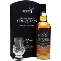 Highland Park 1973 & Glass Set / Macphails Collection Island Whisky