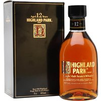 Highland Park 12 Year Old / Bot.1980s Island Single Malt Scotch Whisky