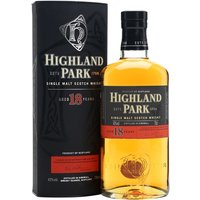 Highland Park 18 Year Old Island Single Malt Scotch Whisky
