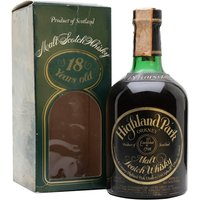 Highland Park 1959 / 18 Year Old / Bot.1977 Island Whisky