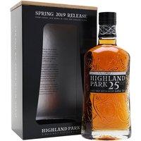 Highland Park 25 Year Old / 2019 Edition Island Whisky