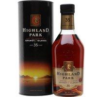 Highland Park 35 Year Old / John Goodwin Island Whisky