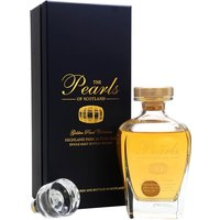 70cl / 45.2% / Gordon & Company - The Golden Pearl Collection comprise old and rare whiskies from Gordon & Company's The Pearls of Scotland range. This 24-year-old Highland Park comes in a decanter with stopper and is a great example of the lightly smoky whisky from Orkney.