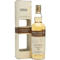 70cl / 46% / Gordon & MacPhail - Distilled at Isle of Jura on the eponymous island in 1997, this was bottled in its late-teens in 2016 for Gordon & MacPhail's Connoisseurs Choice series. A typically fruity and spicy whisky from this distillery.