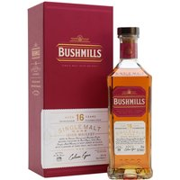 Bushmills 16 Year Old / Three Wood Irish Single Malt Whiskey