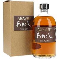 Akashi 5 Year Old / Sherry Cask / Half Litre Japanese Whisky