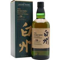 Suntory Hakushu 18 Year Old Japanese Single Malt Whisky