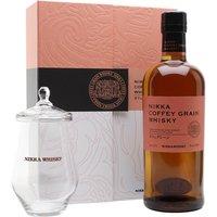 Nikka Coffey Grain Whisky / Glass Pack Japanese Grain Whisky
