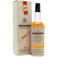 Knockando 1971 / Bot.1982 Speyside Single Malt Scotch Whisky