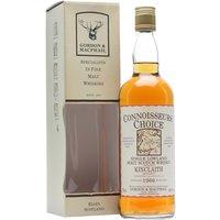 Kinclaith 1966 / Connoisseurs Choice / Bot.1980s Lowland Whisky