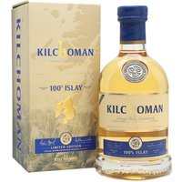 70cl / 50% / Distillery Bottling - Kilchoman's 100% Islay is so-called as all the production takes place on the island. The barley is grown on the estate farm and malted on-site, and bottling also takes place at the distillery. The seventh edition, distilled in 2010 and bottled in 2017 is a mixture of first-fill and refill bourbon barrels. Lightly peated, fresh and light with citrus notes.