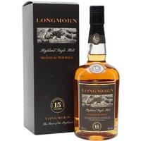 Longmorn 15 Year Old Speyside Single Malt Scotch Whisky