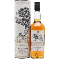 Lagavulin 9 Year Old / Game of Thrones House Lannister Islay Whisky