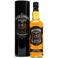 Loch Lomond 18 Year Old Highland Single Malt Scotch Whisky
