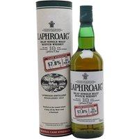 Laphroaig 10 Year Old Cask Strength / Batch 001 / Bot.2009 Islay Whisky