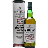Laphroaig 10 Year Old Cask Strength / Batch 002 / Bot. 2010 Islay Whisky