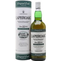 Laphroaig 10 Year Old / Cask Strength Islay Single Malt Scotch Whisky