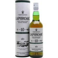 Laphroaig 10 Year Old / Cask Strength / Batch 011 / Bot.2019 Islay Whisky