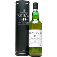 Laphroaig 15 Year Old Islay Single Malt Scotch Whisky