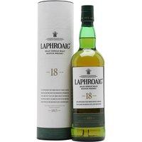 Laphroaig 18 Year Old Islay Single Malt Scotch Whisky