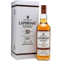 Laphroaig 30 Year Old / Bot.2016 Islay Single Malt Scotch Whisky