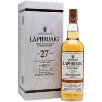 Laphroaig 27 Year Old / Bot.2017 Islay Single Malt Scotch Whisky