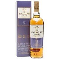 Macallan 18 Year Old / Fine Oak Speyside Single Malt Scotch Whisky