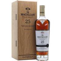 Macallan 25 Year Old / Sherry Oak / 2019 Release Speyside Whisky