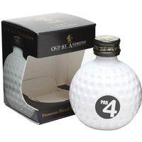 Old St Andrews Par 4 Blended Whisky Golfball / Miniature Blended Whisky