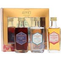 Dockyard Trio Miniature Pack / Damson, Strawberry and Classic) / 3x5cl