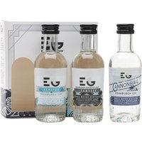 Edinburgh Gin Signature London Dry Miniature Gift Set / 3x5cl