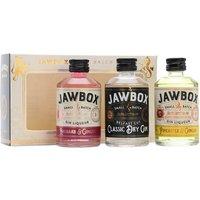 Jawbox Mini Triple Set Gin and Gin Liqueur / 3x5cl