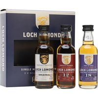 Loch Lomond Miniature Gift Set / 3x5cl Highland Whisky