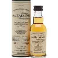 5cl / 40% / Distillery Bottling - A miniature of Balvenie's 12yo DoubleWood. This is finished in fresh sherry casks for an extra layer of richness and complexity.