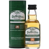 Ballechin 10 Year Old / Heavily Peated / Miniature Highland Whisky