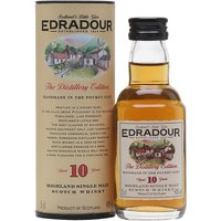 5cl / 40% / Distillery Bottling - A miniature of Edradour's regular 10 year old bottling.