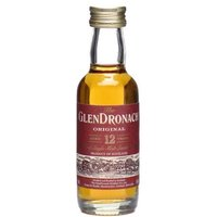 5cl / 43% - A miniature bottle of Glendronach's heavily sherried 12 year old.