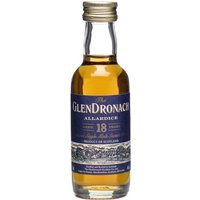 Glendronach 18 Year Old Allardice Miniature