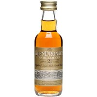 Glendronach 21 Year Old Parliament Miniature Speyside Whisky