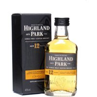 5cl / 40% / Distillery Bottling - A mini bottle of Highland Park's gold standard malt.