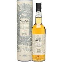 Oban 14 Year Old / Small Bottle Highland Single Malt Scotch Whisky
