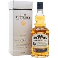 Old Pulteney 12 Year Old Highland Single Malt Scotch Whisky