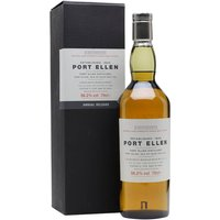 70cl / 56.2% / Distillery Bottling - The fourth in a series of annual releases of cask-strength Port Ellen from the late 1970's.  As the distillery closed over twenty years ago, these bottles are very highly sought-after.