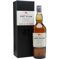 70cl / 55.2% / Distillery Bottling - The headline bottle of the Diageo Special Releases 2016 � the 16th release of whisky from cult closed distillery Port Ellen. This is a big, spicy dram, balancing smoke and hot spice against the traditional leather, citrus and seaside character.