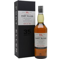 70cl / 56.5% / Distillery Bottling - The 14th Special Release of Port Ellen is more elegant than last year�s � the wood tannins are subtle and the chamois leather not as prominent as one expects from Port Ellen � but that�s not a bad thing here.