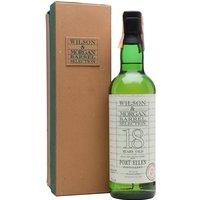 Port Ellen 1977 / 18 Year Old / Wilson & Morgan Islay Whisky
