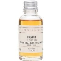 3cl / 40% / The Perfect Measure - One of the classic after-dinner malts, Balvenie DoubleWood is aged firstly in bourbon casks which softens and adds character, while a second maturation in sherry casks adds extra richness and complexity. A high-class dram.