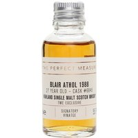 Blair Athol 1988 Sample / 27 Year Old / Signatory for TWE Highland Whisky