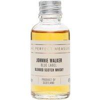 Johnnie Walker Blue Label Sample Blended Scotch Whisky